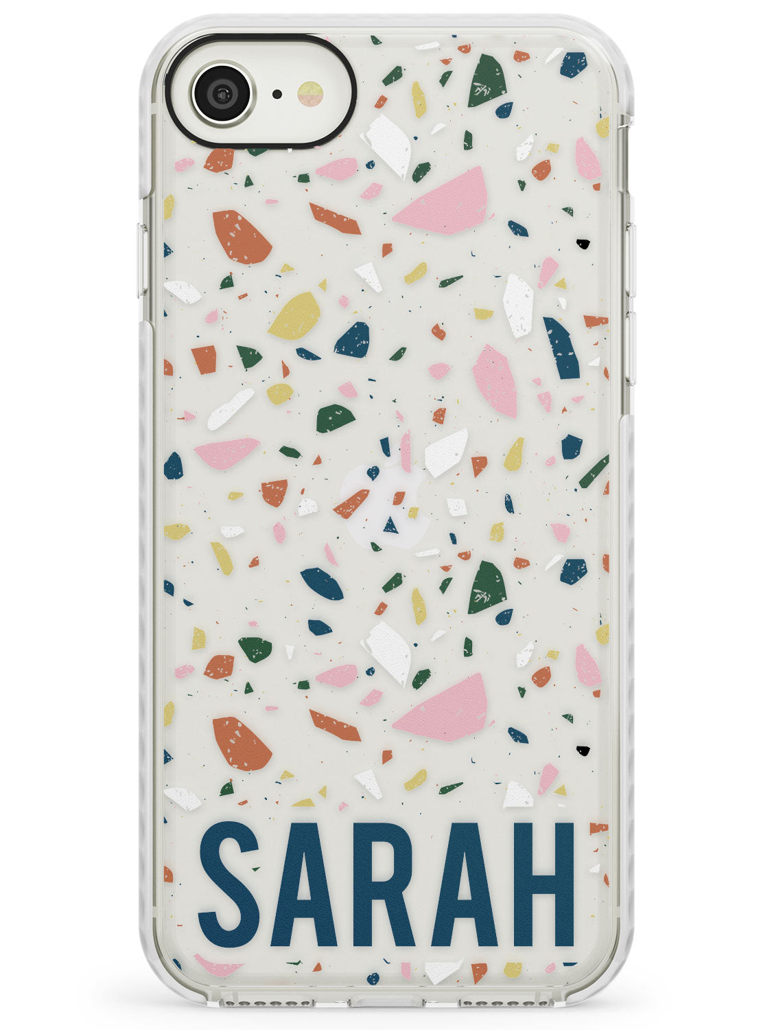 Customised Terrazzo - Pink, Blue, Yellow iPhone Case by Case Warehouse ®
