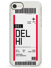 Delhi Boarding Pass iPhone Case by Case Warehouse ®