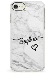 White Marble iPhone Case by Case Warehouse ®