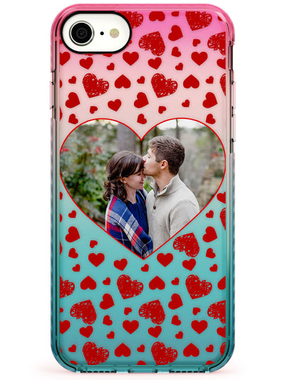 Custom Heart Shaped Photograph Impact Phone Case for iPhone 11 Pro Max