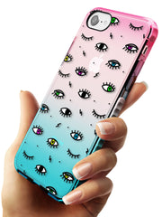 Colorful Psychedelic Eyes   Phone Case - Case Warehouse
