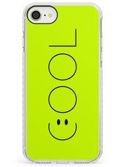 COOL Smiley Face Impact Phone Case for iPhone SE 8 7 Plus