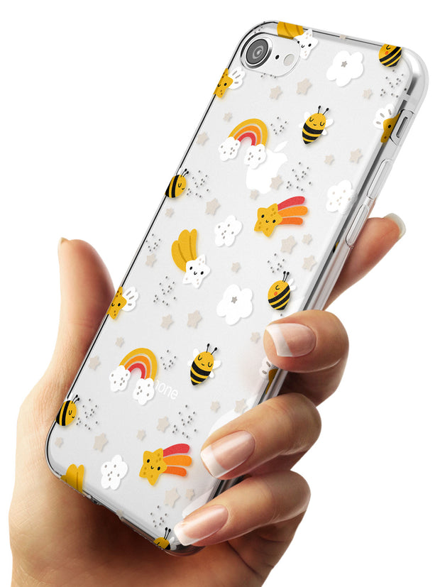 Busy Bee Slim TPU Phone Case for iPhone SE 8 7 Plus
