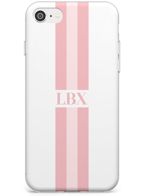 Minimal Pink Stripes iPhone Case by Case Warehouse ®