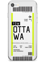 Ottowa Boarding Pass iPhone Case by Case Warehouse ®