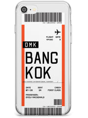Bangkok Boarding Pass iPhone Case  Slim Case Custom Phone Case - Case Warehouse