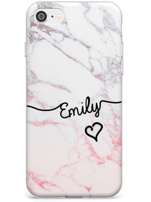 Pink Fade Marble iPhone Case by Case Warehouse ®