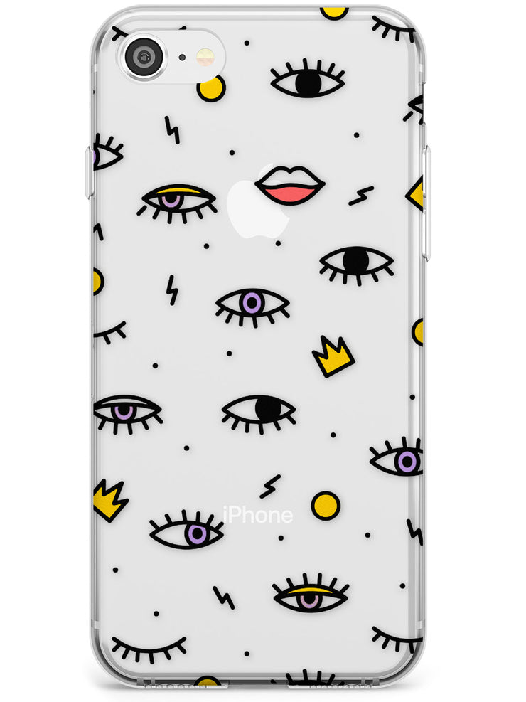 Eyes & Lips iPhone Case by Case Warehouse ®