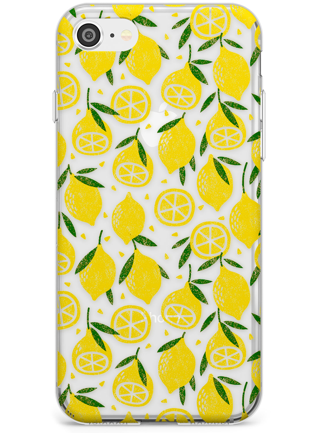 Bright Lemon Fruity Pattern iPhone Case by Case Warehouse ®