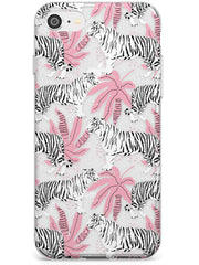 Tigers Within Slim TPU Phone Case for iPhone SE 8 7 Plus