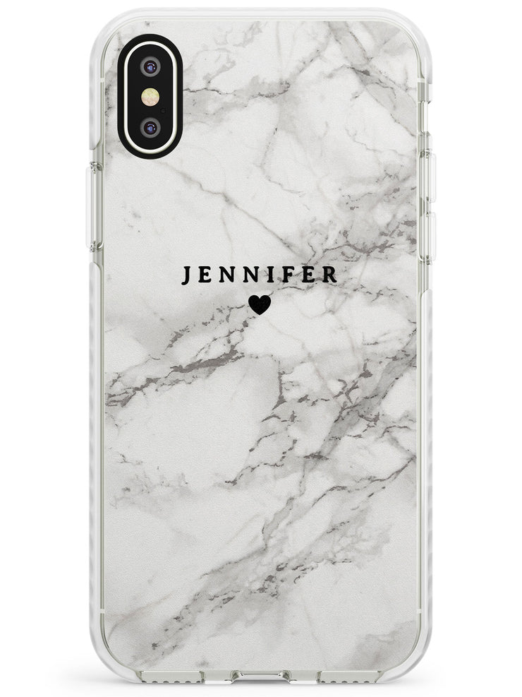 Classic Grey Marble iPhone Case by Case Warehouse ®