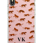 Personalised Safari Tiger Pattern on Pink