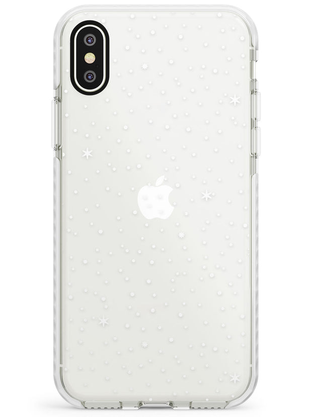 Celestial Starry Sky White Impact Phone Case for iPhone X XS Max XR
