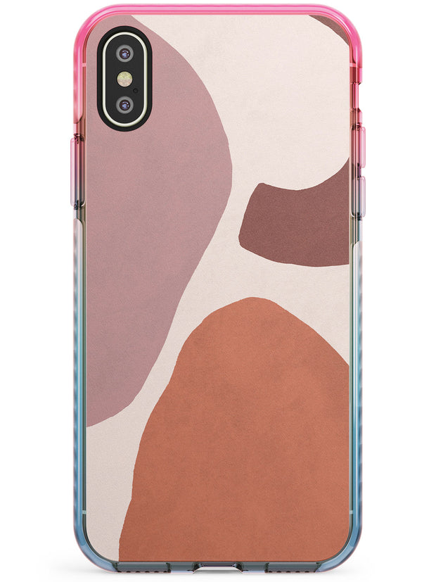Lush Abstract Watercolour: Design #4 Pink Fade Impact Phone Case for iPhone X XS Max XR