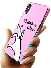 Partners in Crime Matching Cases: Right Side Pink Fade Impact Phone Case for iPhone X XS Max XR