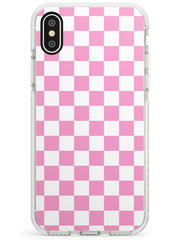 Pink Checkered iPhone Case by Case Warehouse ®