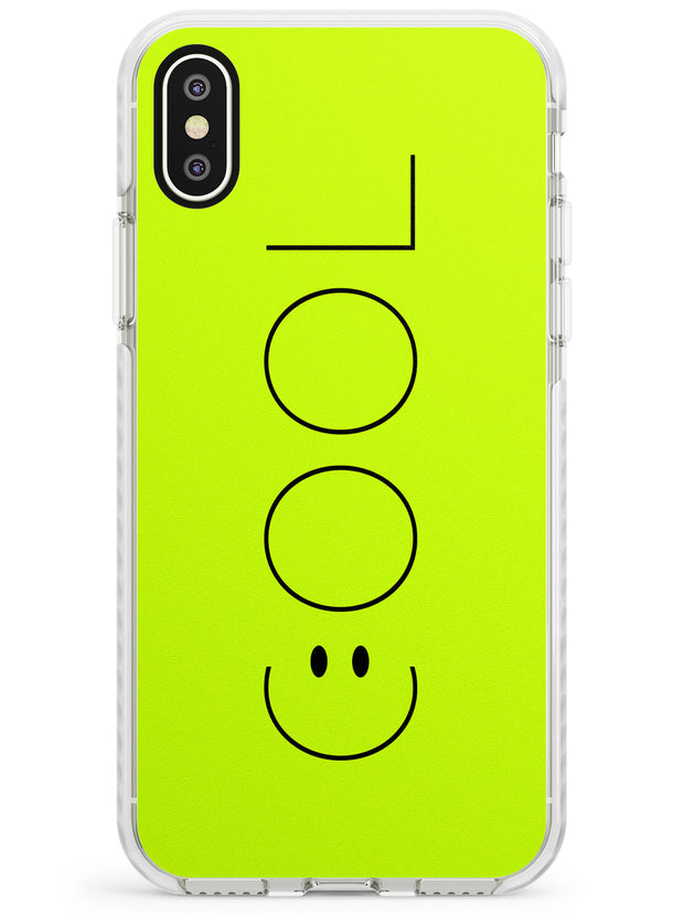 COOL Smiley Face Impact Phone Case for iPhone X XS Max XR