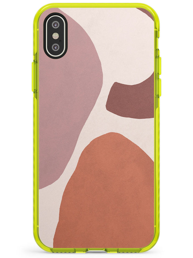 Lush Abstract Watercolour: Design #4 Neon Yellow Impact Phone Case for iPhone X XS Max XR