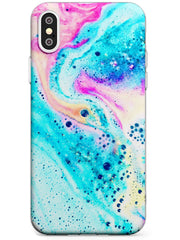 Ocean White Bath Bomb iPhone Case by Case Warehouse ®