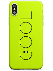 COOL Smiley Face Slim TPU Phone Case Warehouse X XS Max XR