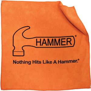 Orange Hammer Microfiber Towel