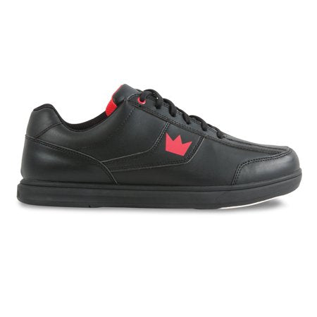 Brunswick Edge Black/Red Bowling Shoes