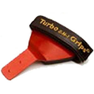 Turbo 2-N-1 Grips Bulldog Wrist Support Red Forward Attachment Right Handed