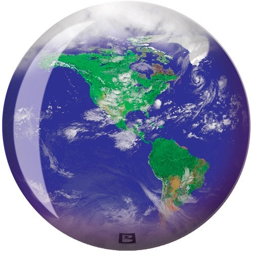 "Brunswick ""World"" Globe Viz-A-Ball"