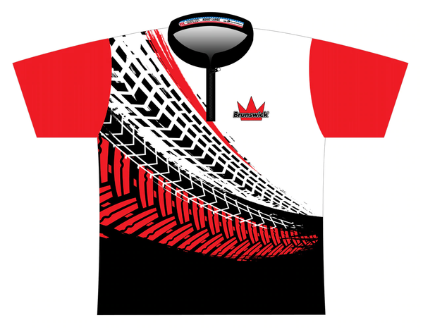 Logo Infusion - Brunswick Black/Red/White Jersey