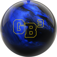 Ebonite GB3 Game Breaker 3 Black/Blue Bowling Ball
