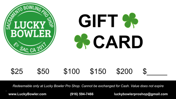 Gift Card - Lucky Bowler Pro Shop