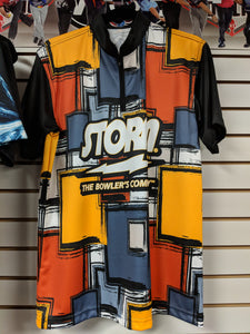 Logo Infusion Jersey - Storm Orange Multi