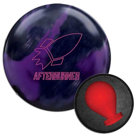 900 Global Afterburner Black/Purple Bowling Ball