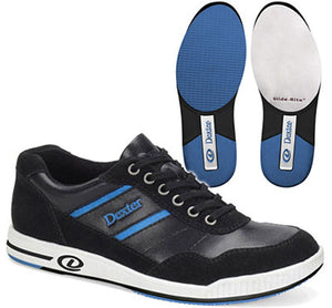 Dexter David Black/Blue MENS Bowling Shoes