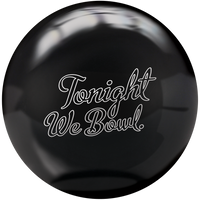 "DV8 Polyester ""Just Black"" Bowling Ball (BLM Item)"