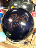 Columbia 300 Purple Sparkle The Beast Bowling Ball 15lbs Used