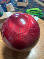 USED Hammer Cherry Vibe Bowling Ball 15lbs