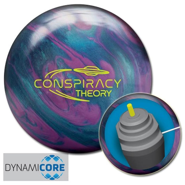 Radical Conspiracy Theory Bowling Ball