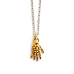 Fantôme Right Hand Necklace - Gold Vermeil