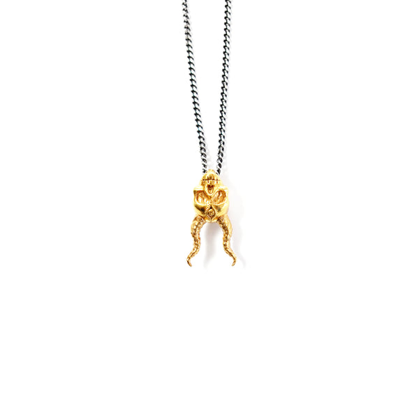 King Fantôme Necklace - 18K Gold Vermeil