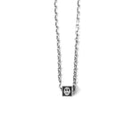 Single Love Cube Necklace