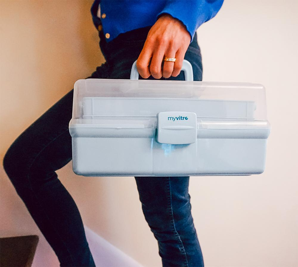 Portable Fertility Medication Organizer