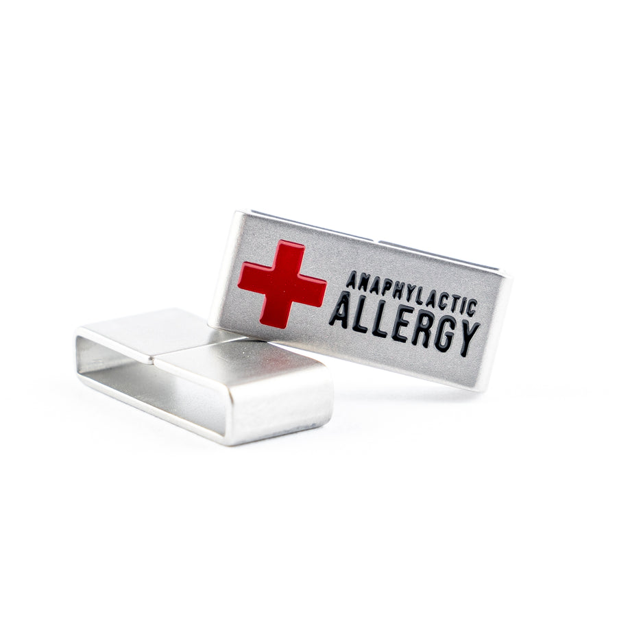 For all those living with anaphylaxis, whatever the root of the allergy, this medical tag is for you.