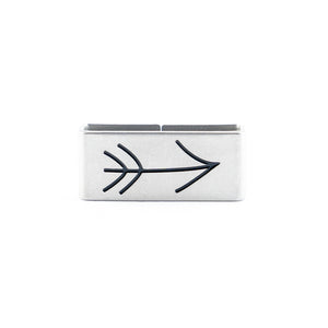 Our Arrow Collectible Tag is a symbol of Intention, Ambition and Focus