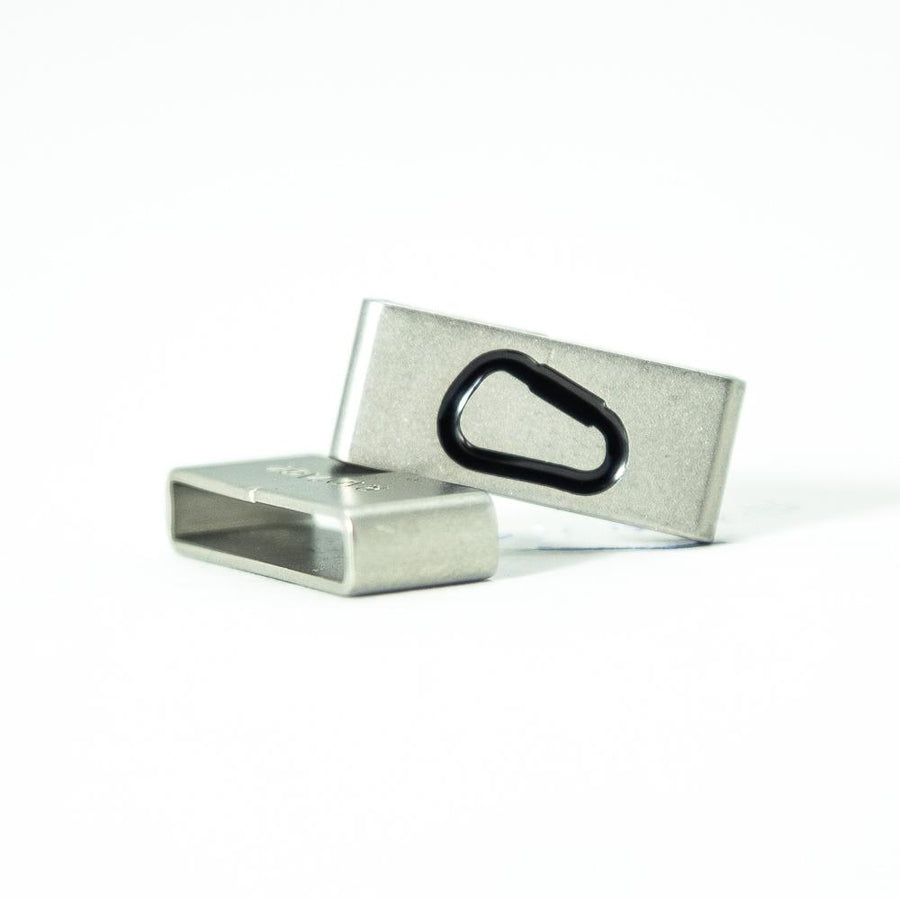 The carabiner is essential, just like climbing is. If you get this, this Carabiner | Climber Collectible Tag is for you.