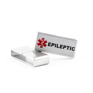 For all those living with Epilepsy, this medical tag is for you. No one should have to choose between style and safety.