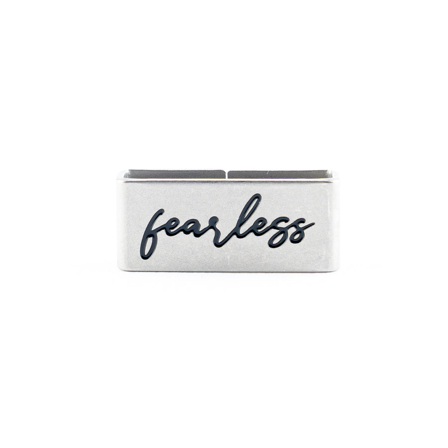 Our Fearless Collectible Tag symbolizes Valiant, Brave, and Bold.