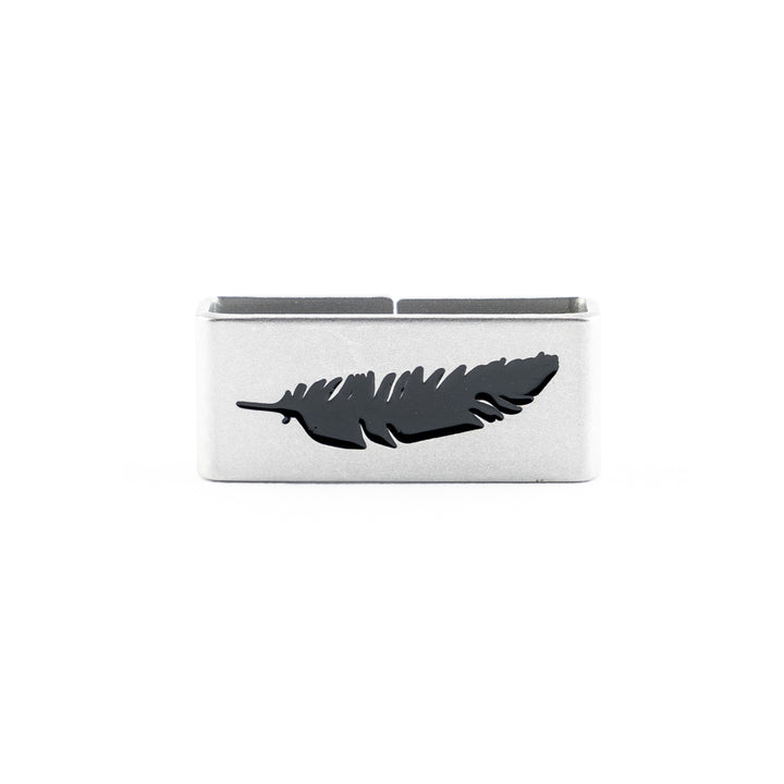 Our Feather Collectible Tag is a symbol of Free and Wild Spirit, Open Mind!