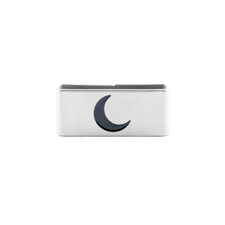 Our Moon Rising Collectible Tag symbolizes New Beginnings, Transformation, and Authenticity.