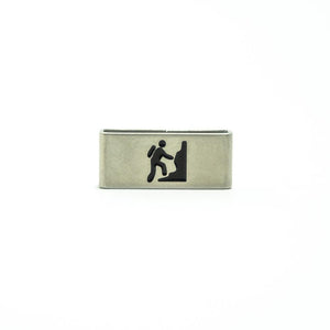Mountaineer | Hiker Collectible Tag is for seekers of the knowledge that comes from nature and solitude.